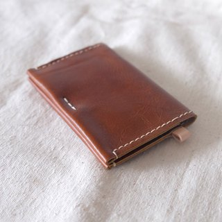 Leather Card Wallet / Card Holder