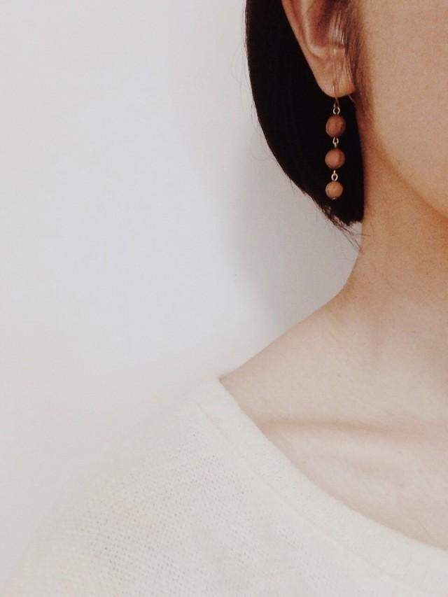fleeting foam earrings