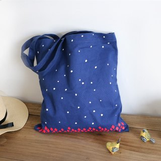 Color-Up Canvas Bag / Bag / Shoulder Bag / Christmas Gift - Snow