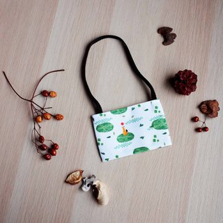 [Little Fox] Leaf Leaf Drink Bag