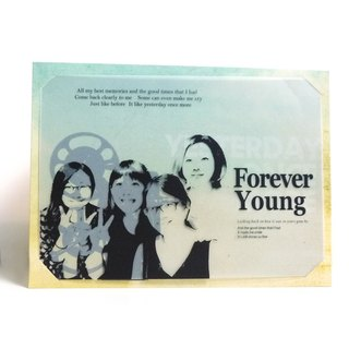 Good Times | Exclusive your old days -04 transparencies grow greeting Memorial