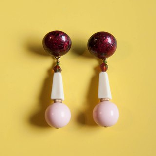 Strawberry Cream Cake Earrings