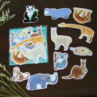 Zoo Illustration / Sticker Pack