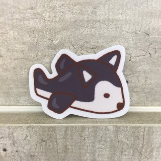 Sci-Air Small Waterproof Sticker – SS0088