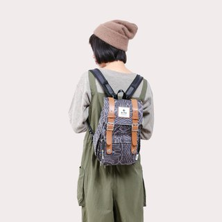 [Twin Series] 2018 Advanced Edition - Traveler Backpack (Small) - Camouflage Deep