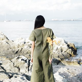 green Creeper Jumpsuit