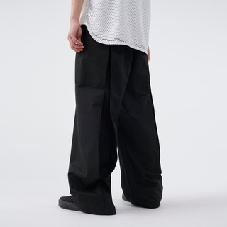 inverted box pleat pants