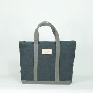 Boat bag - navy/gray
