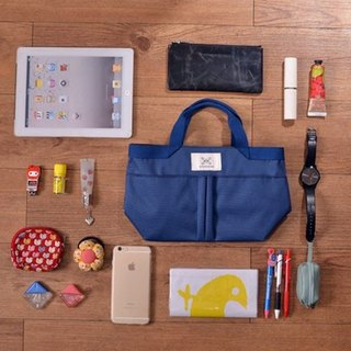 LaPoche Secrete: exchange gift _ elegant bag in bag pocket _ blue