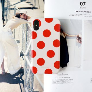 Sweet orange dot phone case