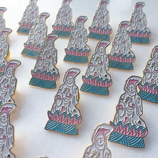 New Guanyin Enamel Pin