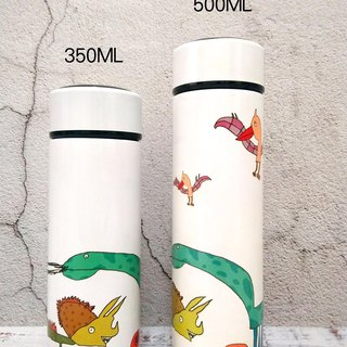 (customized goods) graffiti 304 stainless steel vacuum flask 500ML