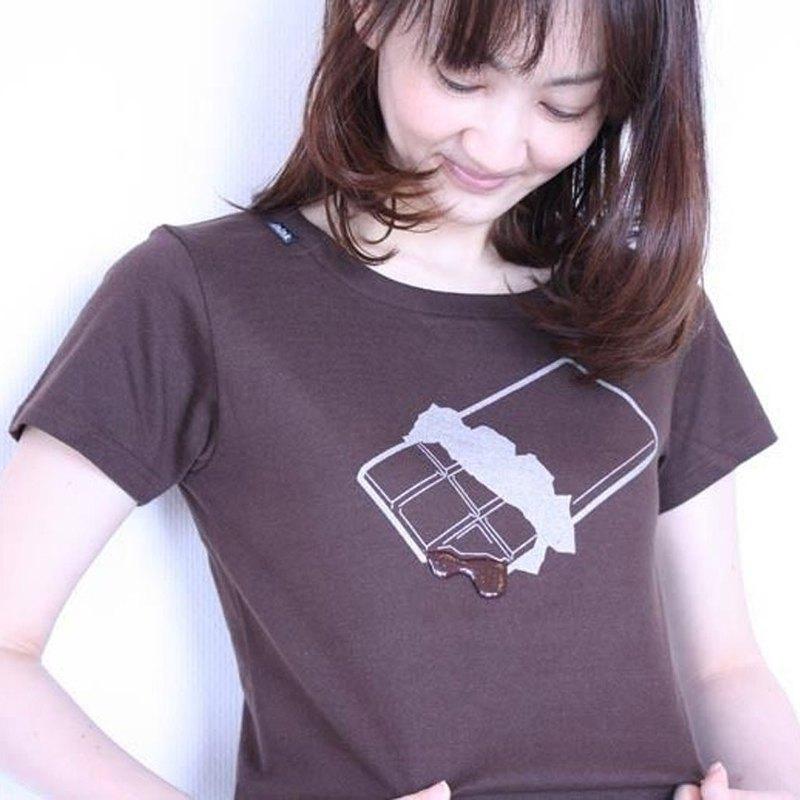 """巧克力短衫""""短衫巧克力融化""""。"""