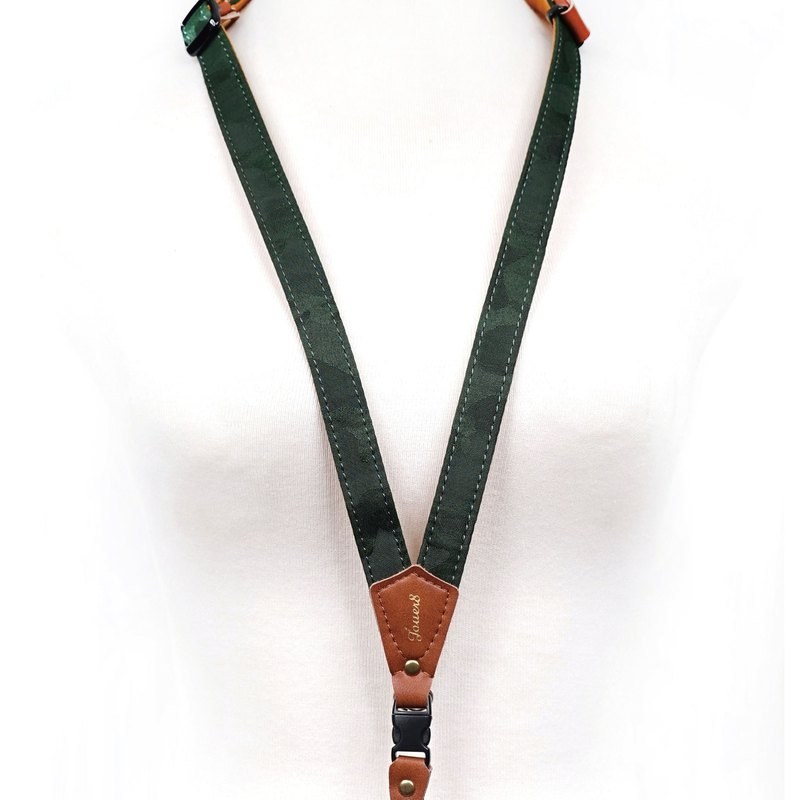 Mobile phone strap neck hanging - camouflage