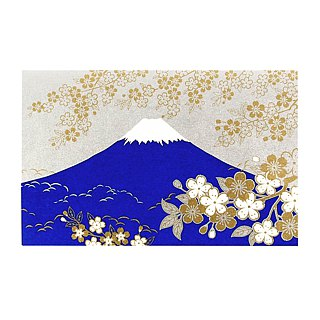 Hot Stamping Sakura Mount Fuji High and paper [Hallmark-card classic wind / multi-purpose]