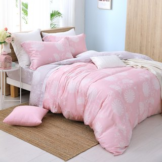 Extra large - slightly sweet happiness - Tencel dual-use bedding four-piece group [40 100% Lysell] design