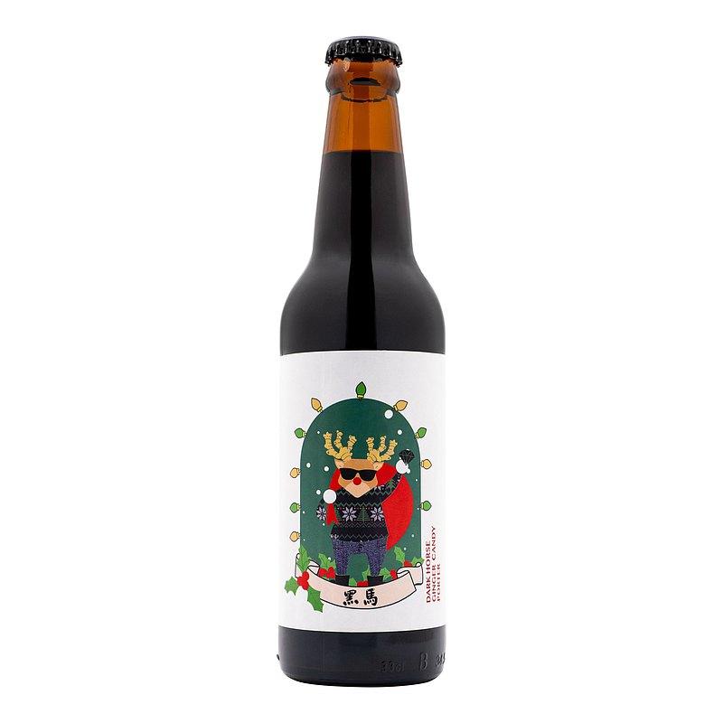 吹啤啤 黑馬 黑糖薑母啤 6.2%