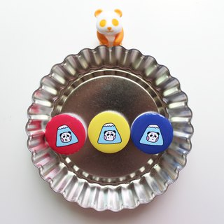 Fuji Panda / Badge (3 models)