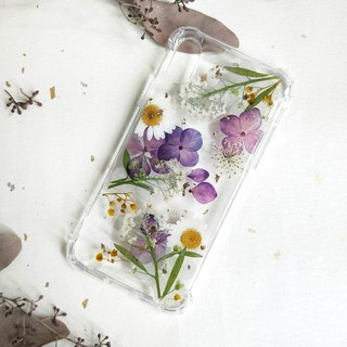 Trajectory flower phone case