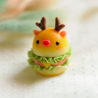 Sweet Dream +++ delicious Elk hamburger +++ bag pendant key ring