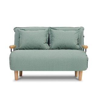 Otto AJ2 │ │ │ lake green two-seater sofa bed