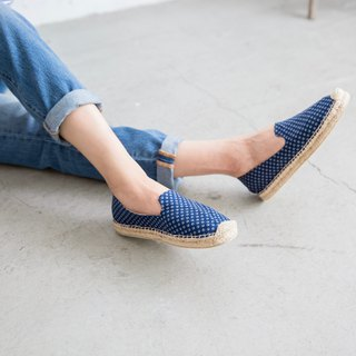 Japanese Cloth Handmade Straw Shoes - Wind Moon