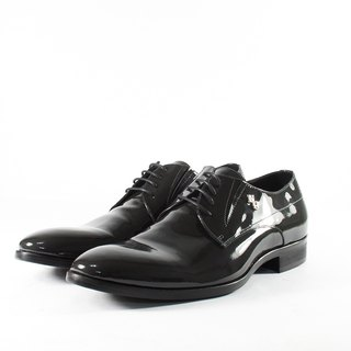 ITA BOTTEGA [Made in Italy] patent leather derby shoes