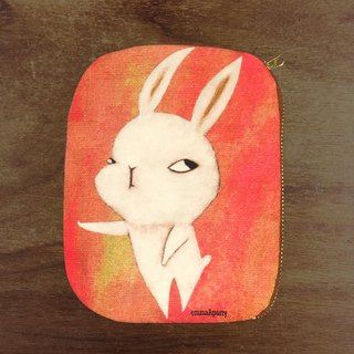 EmmaAparty Illustration Bags: Tire Rabbit