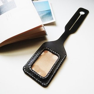 City Personality Leather Baggage Tag [Free Customization]