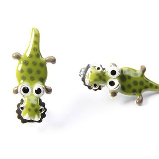 【Paris, France TARATATA】 animal crocodile earrings series