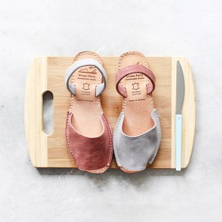 【23.5 Shipped Immediately】Shoes Party Handmade Mini Toe Sandals/S2-15430L