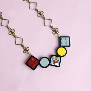 LEGO Brass Necklace