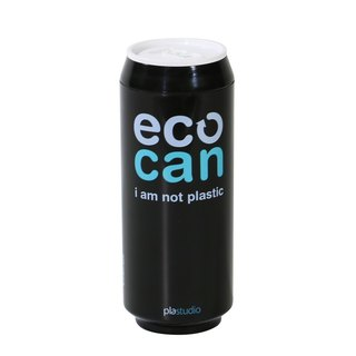 PLAStudio-ECO CAN-420ml-Made from Plant-Black