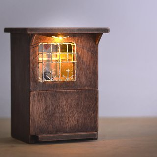 Old house drawer night light