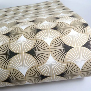 Shizen regular geometric hand-wrapped paper