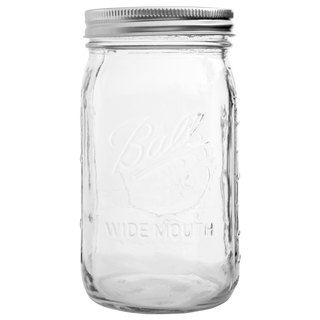 Ball Mason Jar Mason Jar _32oz wide mouth jar