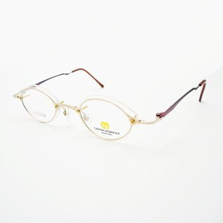 Monroe Optical Shop / Japan 90s Space Metal Spectacle Frame no.A03 vintage