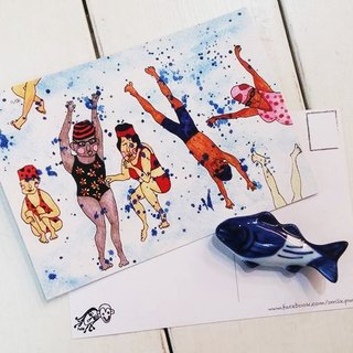 PuChi // Postcards / summer going to the beach