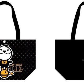 LAZYMARU-MR06 MR.SIMPLE Canvas Tote Bag Fight Taiwan Wenchuang