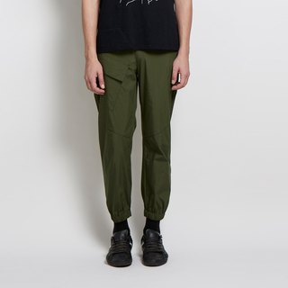 Follow me - half-legged casual pants - Army Green