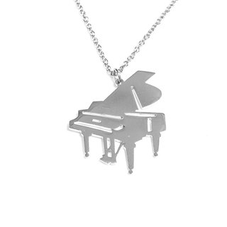 Cute abstract piano pendant