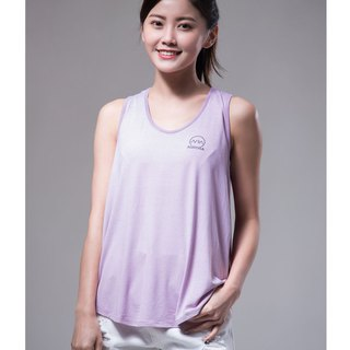 Aurora soft vest / pink purple