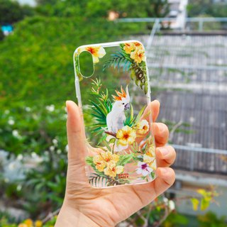 Parrot UV printing iPhone case