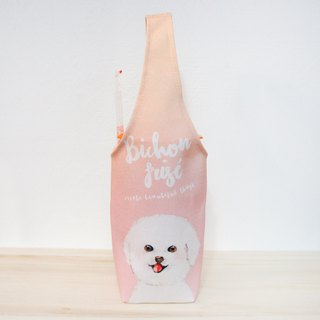 Bichon cup set of environmental protection beverage bag beverage bag beverage cup set waterproof cup set waterproof bag