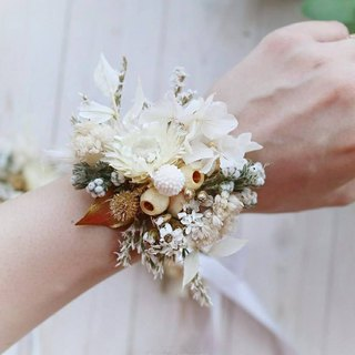 PJ Small Garden* | Bridesmaid Bride Happy Dry Wrist Flower Wedding Small Things |