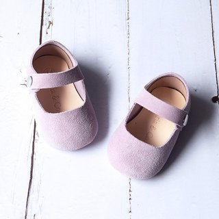 Baby Girl Shoes, Baby Moccasins, Lilac Leather Mary Jane Shoes, Baby Shower