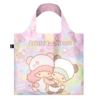 LOQI Shopping Bag - Sanrio License (Gemini Panda TS03)