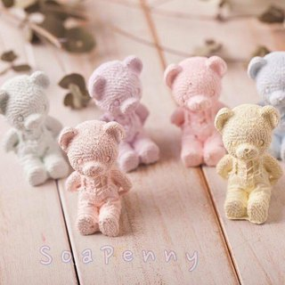 Exclusive order - fragrance happy - obediently bear 6 - for gifted - SoaPenny