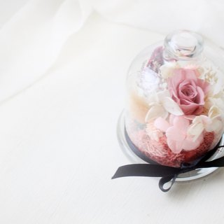 Forest Princess's colorful glass enamel temperament nude powder eternal flower ceremony