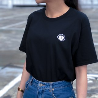 Jenny basic models __ black short T